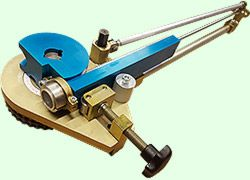 how to use manual swage sir pipe bender